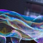 bulles sur la ville